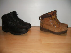 """"""" Timberland """"   North Face """"  ECCO  """" bottes   size  9 - 10 US"""