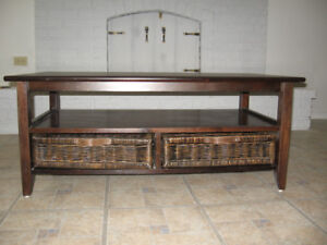 Coffee Table (4Drawer)