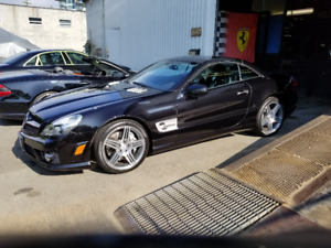 2011 Mercedes Benz SL63 AMG convertible (1 owner, no accidents)