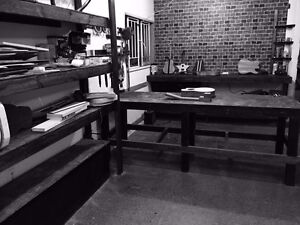 workbench for rent woodshop Main street