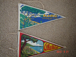 Four vintage collectable pennants London Ontario image 3