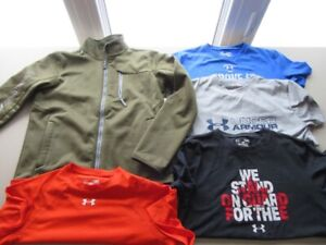Lot of Boys Size Large UNDER ARMOUR