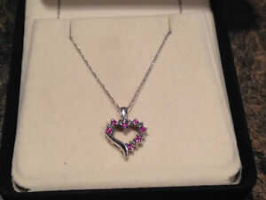 Heart necklace from people's