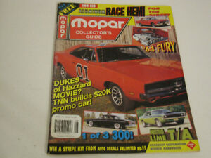 Mopar Collector Guide, Aug 1996