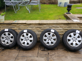 VW Alloys with tyre 16ins