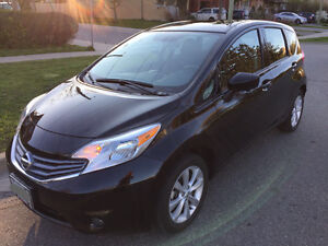 2015 Nissan Versa Note SL (fully equipped) lease takeover