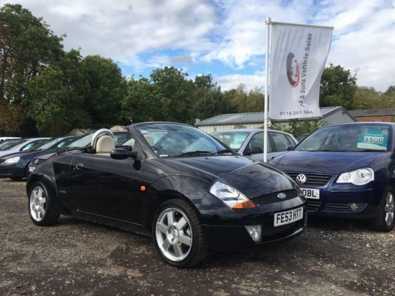 2003 53 FORD STREET KA 1.6 8V LUXURY 94 BHP CONVERTIBLE