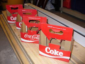 Cartons de marque Coca-Cola