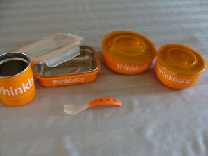 Orange Travel Kit (  5 PIECES ) THINK BABY