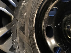 BRAND NEW Winter tires AND Rims , 5 bolt (O.B.O)