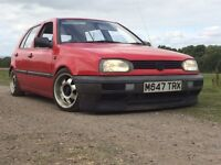 1995 VW Golf MK3 1.4 Coilovers, Lowered, Alloy Wheels