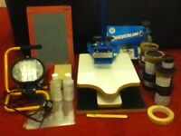 2 Colour Silkscreen Printing Kit £89