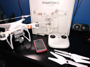 DJI Phantom 3 Standard with Samsung S7 or LG G4 both mint