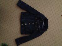 Gap denim jacket size 3