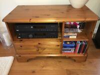 TV Stand/ Hi-Fi Unit (Ducal Designer Lounge Furniture) Solid Pine