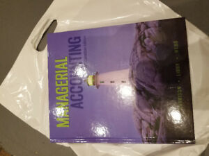 Managerial Accounting 10th Canadian Edition Textbook