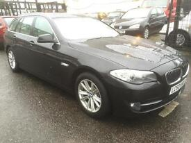 BMW 520 2.0TD auto 2010 diesel SE Touring estate leather sat nav keyless go