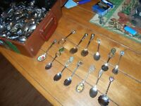Small spoons, collector