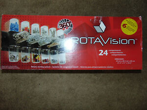 Rotavision storage compartment system