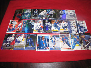 25 different Mats Sundin cards -- many inserts*