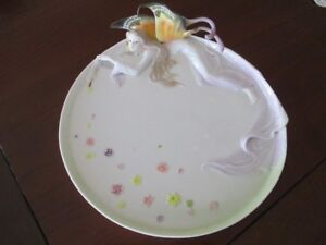 Assiette de collection Gallant Fairy Butterfly Win Brother
