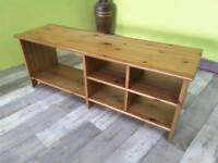 Pine TV Stand - Can Deliver For £19