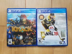 PS4 games $5 each