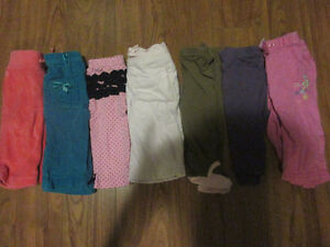 3-6 month girl's pants