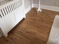 Solid Oak Flooring 7 x 1.2m squared packs