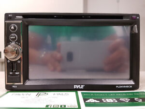 Pyle Bluetooth Car Deck W/DVD GPS & Backup Camera
