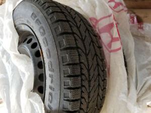 4 x BF Goodrich Winter Tires on rims - used for 1 season only!