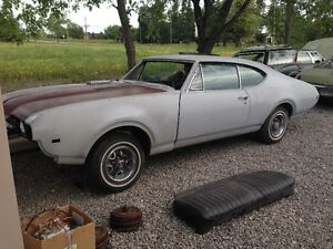 1968 68 Oldsmobile Cutlass 442 Southern body shell for sale
