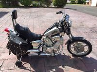 Kids battery ride on motor bike Harley Davidson style
