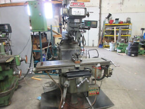 KING RICH VERTICAL TURRET MILLING MACHINE