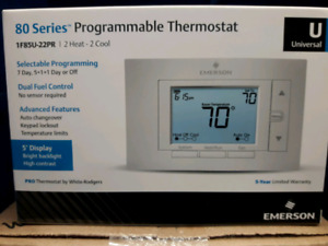 Emerson Climate technologies programmable thermostat