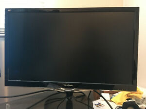 "ViewSonic VX2452mh - 24"" monitor - 1080p, 2ms, 60Hz, TN"