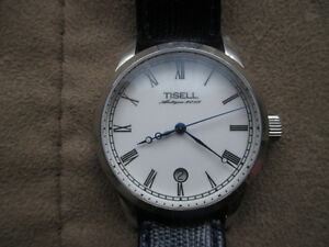 TISELL 9015-R 40mm MIYOTA 9015 6H-Date Automatic