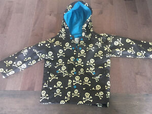 Hatley boys raincoat size 5