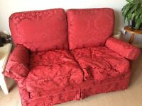 X2 Two seater feather filled sofas