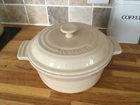 Le Creuset stoneware casserole pot
