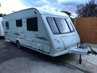 2008 Elddis Odyssey 544 4 Berth Caravan FIXED BED Awning, VGC, Bargain !