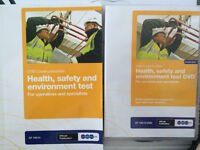 Health, safety and environment test BOOK & DVD