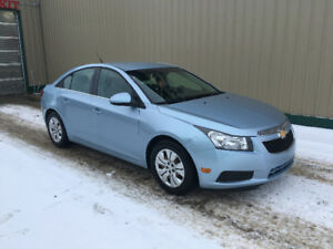 2012 Chevrolet Cruze. Studded winter tires included
