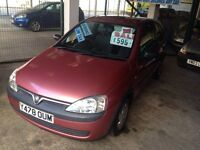 VAUXHALL CORSA 1.2 ONLY £595!!