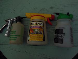 Lot of 3 - Hose-end Fertilizer Sprayers