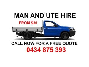 FROM $30 PROFESSIONAL MAN AND UTE HIRE FOR CHEAP PRICE