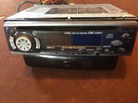 Car CD player with aux radio