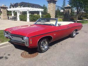 1969 Impala Convertible for sale