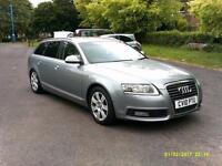 10 AUDI A6 2.0 E SE TDI ESTATE LONG MOT SUPER LOW 48K FULL HISTORY SAT NAV PX