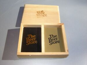 BEER STORE PLAYING CARDS IN BOX/GAMES London Ontario image 2